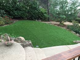 Synthetic Grass Backyard Artificial Turf Canby California City Landscape Backyard Design