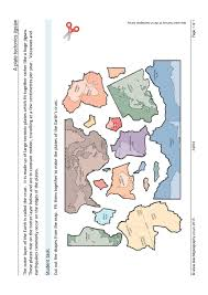 Plate Boundaries Map A Plate Tectonics Jigsaw Plate Boundaries