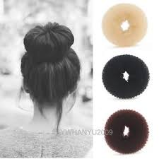 donut bun hair magic hair donut bun maker ring shaper hair form styling tool hair