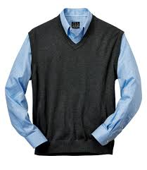 signature collection traditional fit pima cotton sweater vest