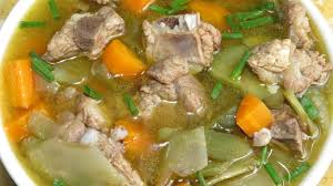 pork rib soup easy recipe homemade food cambodia style asian