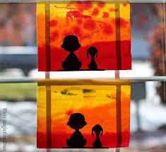 charlie brown snoopy watercolor craft kids