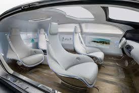 futuristic cars interior ces 2015 mercedes futuristic self driving car has no windows
