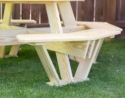 Octagon Patio Table by Treated Pine Kid U0027s Octagon Picnic Table