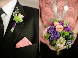 Coral Boutonniere Calie Rose Wedding Flowers Utah