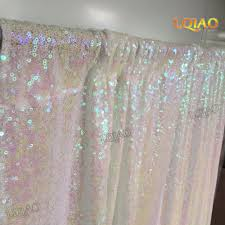 wedding backdrop chagne change white shimmer sequin fabric backdrop 10x10 wedding photo