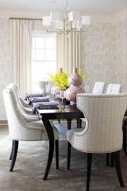 chaise de salle manger design stunning salle a manger et blanche ronde design pictures