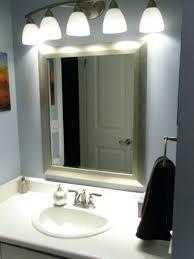 led illuminated bathroom mirror cabinet galactic ceiling mount