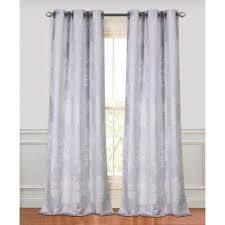 Silver Purple Curtains Silver Grommet Curtains U0026 Drapes Window Treatments The