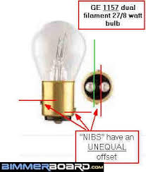 utility trailer light bulbs electrical how does a lightbulb with two filaments know which one