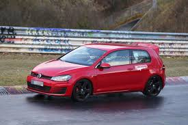 slammed volkswagen gti volkswagen cars news golf gti club sport spied on nürburgring