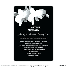 funeral service announcement wording celebration of invitation wording and celebration of