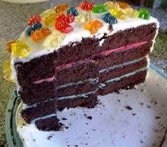 little sister u0027s gummybear cake u2013 trop d u0027amour