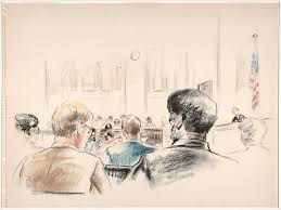 drawing of an overview of the courtroom that includes the u2026 flickr