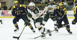 bentley college hockey boston college routs uvm hockey in game 1