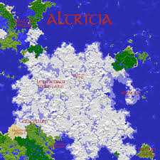 Map Of Al Map Of Altritia Minecraft Multiplayer World Map By Thesharp0ne