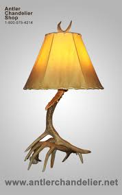 Antler Table Lamp Antler Lamps Antler Chandelier