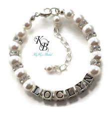 personalized wedding jewelry 104 best personalized flower girl jewelry images on