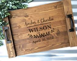 personalized serving trays platters personalized serving tray wood serving tray wine barrel