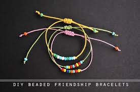 make friendship bracelet with beads images The diy beaded friendship bracelets jpg