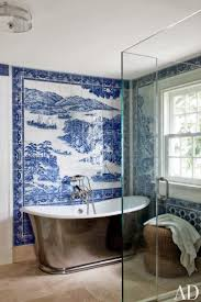 Blue And White Bathroom Ideas by 158 Best Beautiful Baths Images On Pinterest Bathroom Ideas