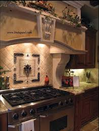 kitchen medallion backsplash beautiful mosaic tile medallion backsplash noche travertine