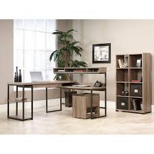 multi tiered l shaped desk sauder transit collection multi tiered l shaped desk 42 12 h x 60 34