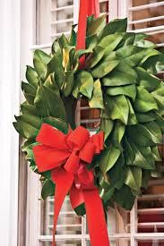 magnolia leaf wreath how to make a magnolia wreath southern living