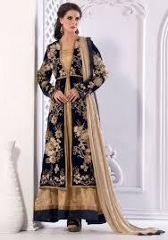 design of jacket suit buy online indian jacket anarkali suits beige indian kalidar suit