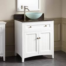 Bathroom Fixture Stores White Bathroom Vanity Cabinet Vessel Sinks Sink With Faucet Holes