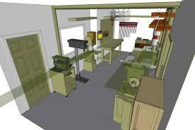 garage floor plans modern house woodworking shop plan perky