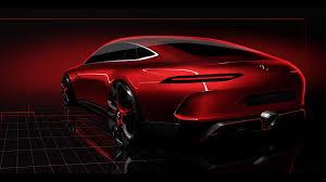 mercedes amg concept mercedes amg gt sedan concept teased ahead of geneva