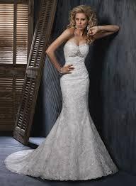 neckline mermaid lace wedding dresses 3