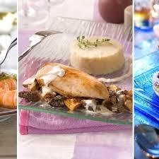 cuisine gastronomique facile menu de noël plein la vue idée repas chic et gastronomique pour noël