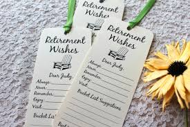 retirement party table decorations set of 8 retirement wishing tree tags bookmarks retirement party