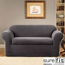 sure fit denim sofa slipcover washable denim slipcover custom made for a quatrine veranda sofa