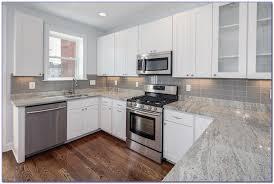 Gray Glass Tile Kitchen Backsplash Gray Glass Subway Tile Kitchen Backsplash Tiles Home Design