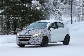 opel 2014 models spyshots new opel vauxhall corsa models show more adam like