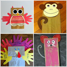 Paper Craft Designs For Kids - 20 paper bag animal crafts for kids i heart crafty things