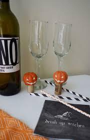 jack o u0027lantern wine stopper diy project for halloween interior