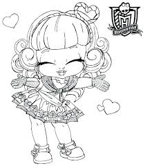 monster high coloring pages baby abbey bominable monster high babies coloring pages roocare co