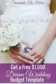 Wedding Budget Spreadsheet How To Have Your Dream Wedding On A Budget Kayla Sloan