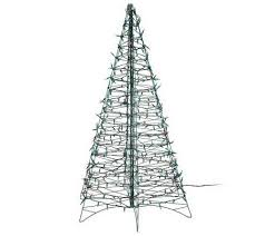 pre lit 5 fold flat outdoor tree by lori greiner page