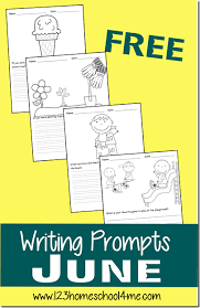 free june writing prompts