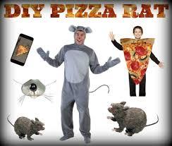 Halloween Costumes Man Diy Pizza Rat Halloween Costume Halloween Costumes Blog