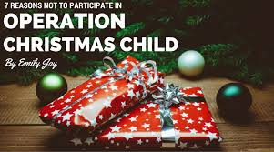 7 reasons not to participate in operation christmas child u2014 emily