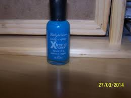 sally hansen hard as nails xtreme wear nail color in blinding blue