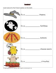 french worksheets halloween french halloween pinterest