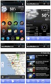 accuweather android app accuweather for android top weather app goandroid