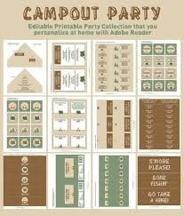 109 best party camping images on pinterest birthday party